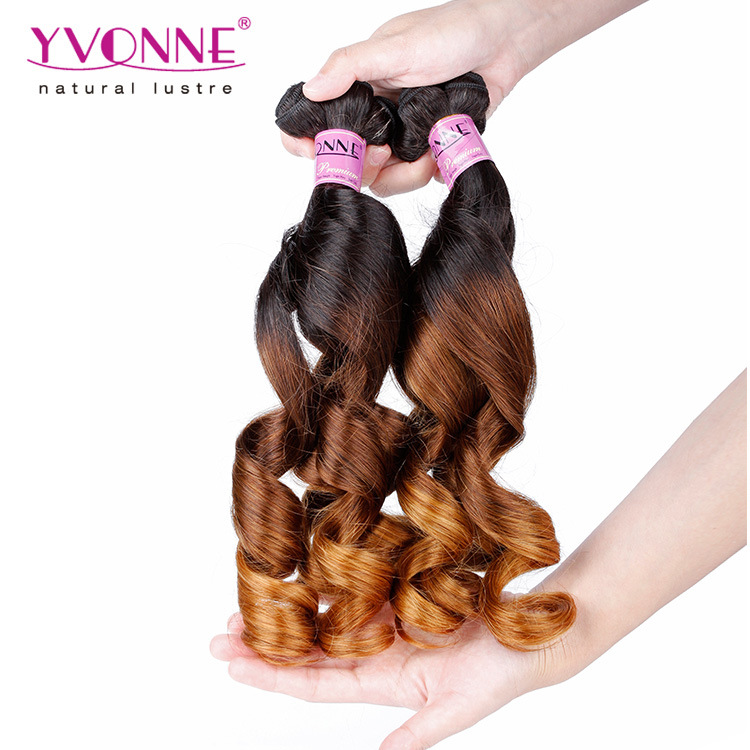 New Arrival Ombre Fumi Hair 100% Human Hair Weaving pictures & photos
