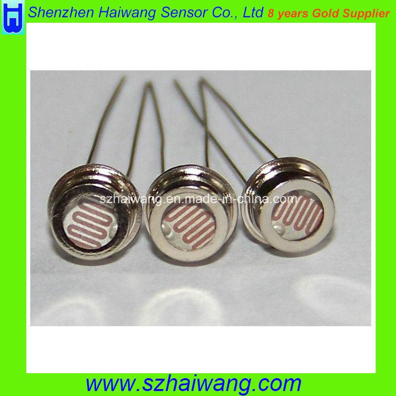 China 6.5mm Ldr Photoresistor with Metal Cap (MJ5510) - China 5k-10k ...