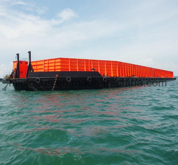 [Hot Item] Flat Bottom Transportation Barge/Steel Bottom Deck Barge