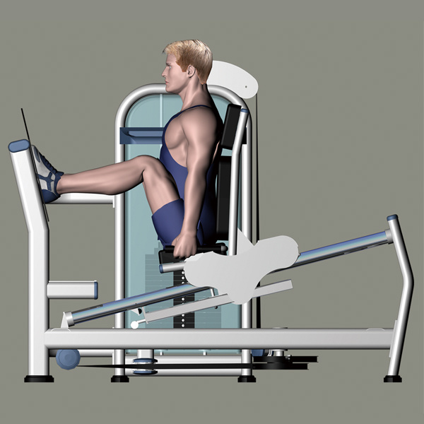 Gym Equipment for Seated Leg Press (M2-1009) pictures & photos