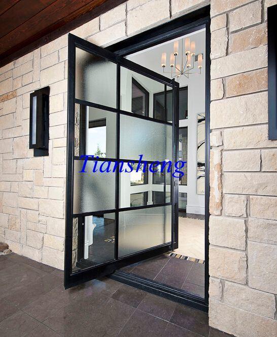 China Floor Hinge Door Factory Price Aluminum Sliding