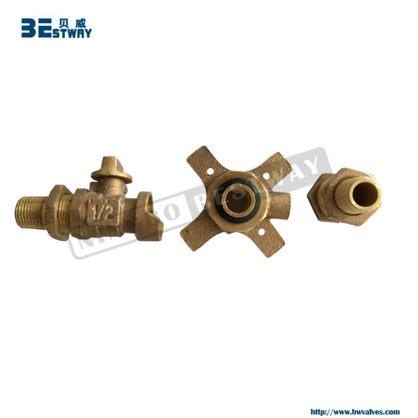 Water Meter Bronze Valve for South American Market pictures & photos