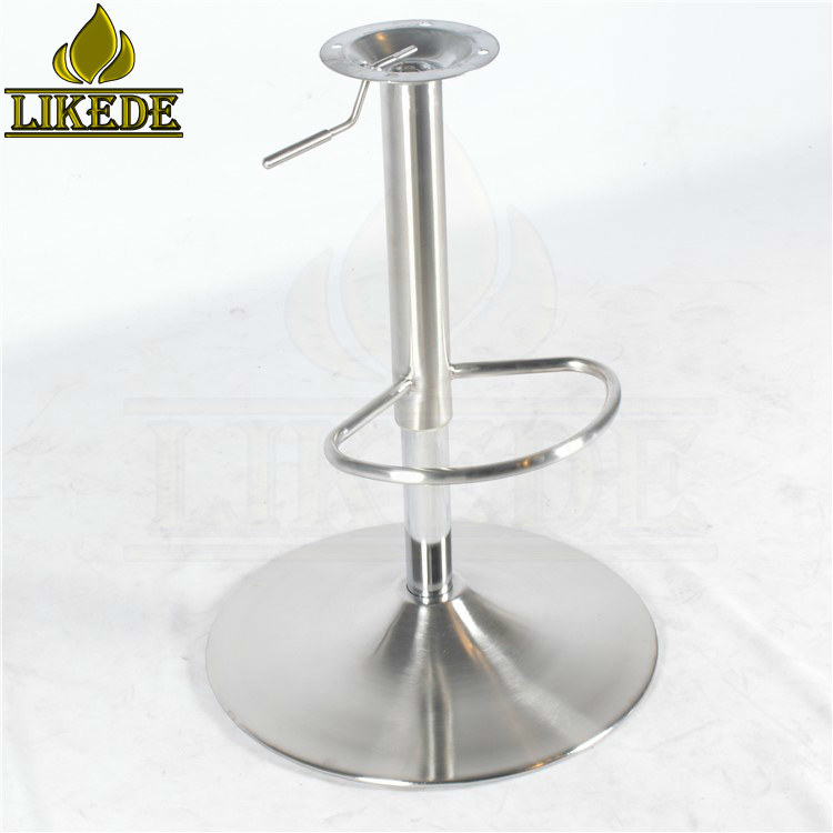 Sensational Hot Item Hot Sell 304 Stainless Steel Adjustable Swivel Bar Stool Base Leg Round Metal Bar Stool Base Creativecarmelina Interior Chair Design Creativecarmelinacom