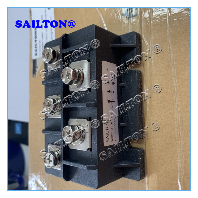 MDS300A 1600V 3-Phase Resin Packed Rectification Module Rectifier Bridge Durable