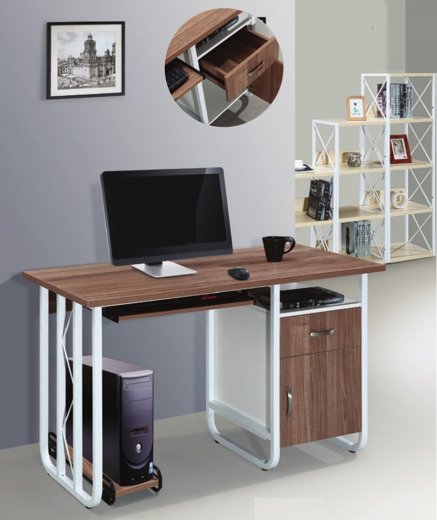 - China New Design Laptop Desk Computer Desk Office Table MDF With