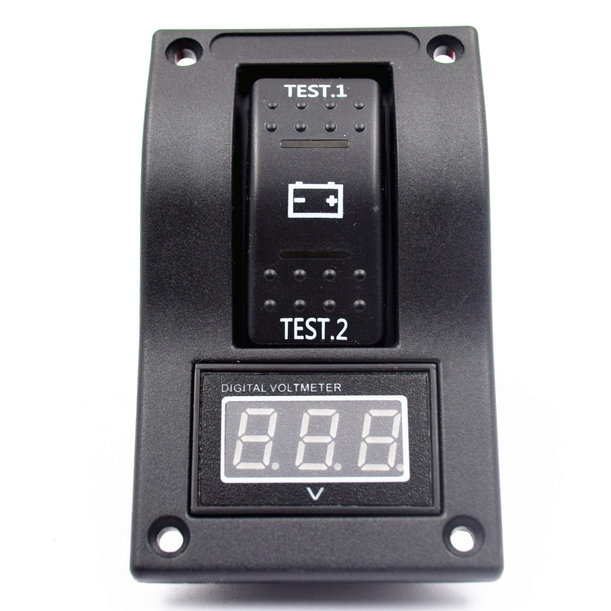 Battery Test Switch Panel