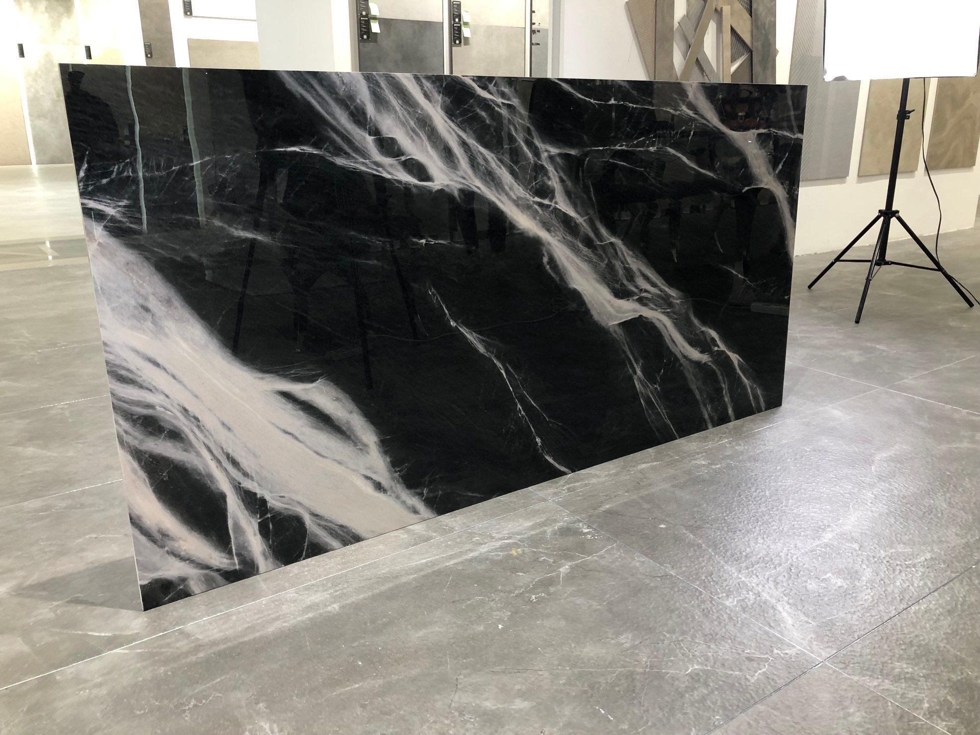 China Large Format Flooring Black And White Marble Porcelain Tile China Flooring Floor Tile