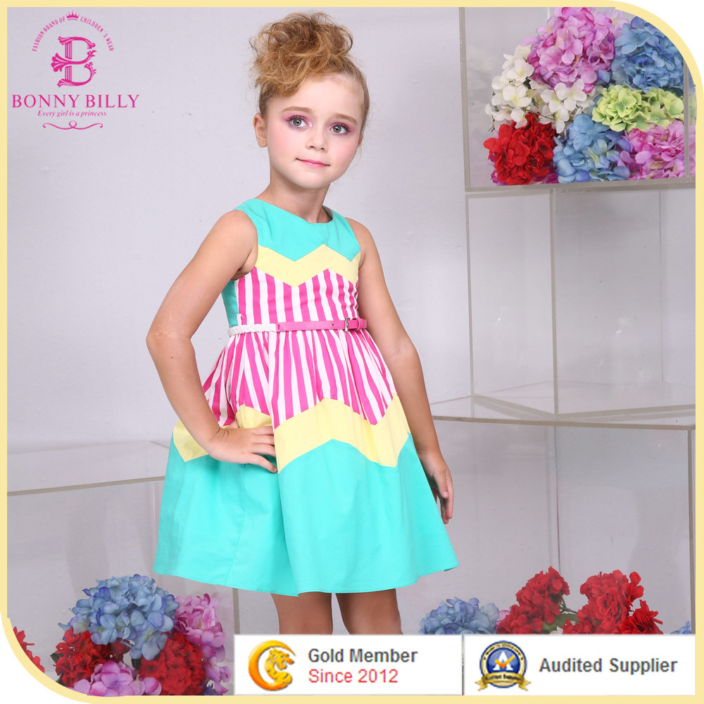 213aaca3081 China Girl Summer Cotton Printed Dress Birthday Dress for Girl of 7 Years  Old - China Girls Party Dresses