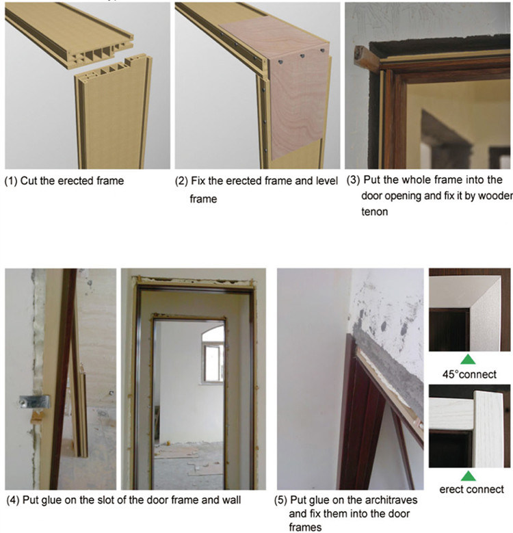 China OEM/ODM High Quaity WPC Door Frame for 35mm Door (PM-50A-35 ...