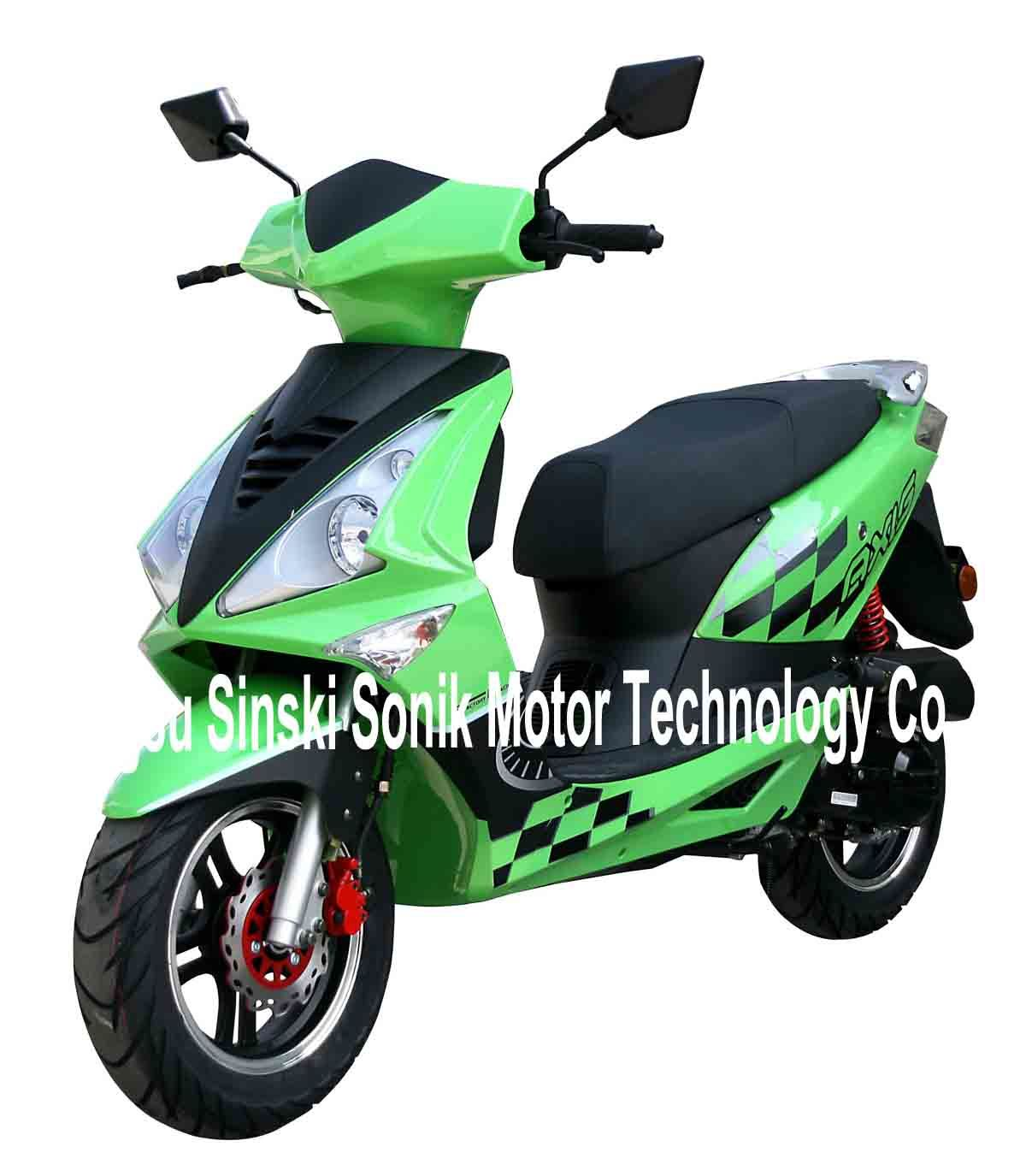 China EEC 50cc/49cc Gas Scooter, Scooter, Motorcycle, 2
