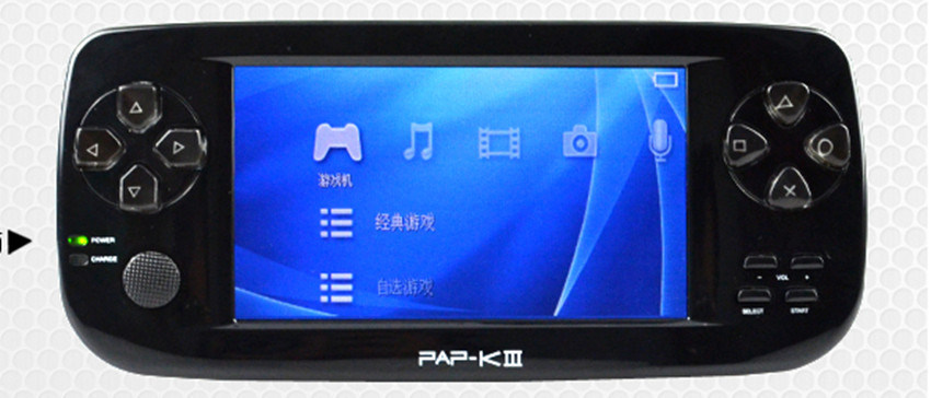 China 4 3 Inch MP6 Player Games Download Games with TV-out