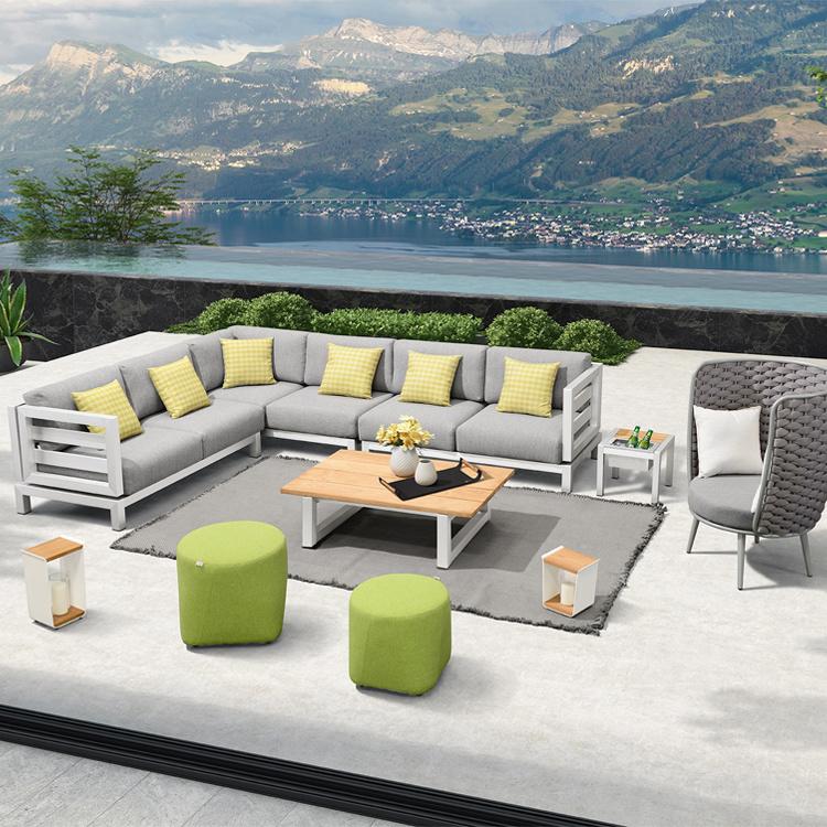 China Outdoor Furniture Aluminum Modern, Modular Outdoor Furniture