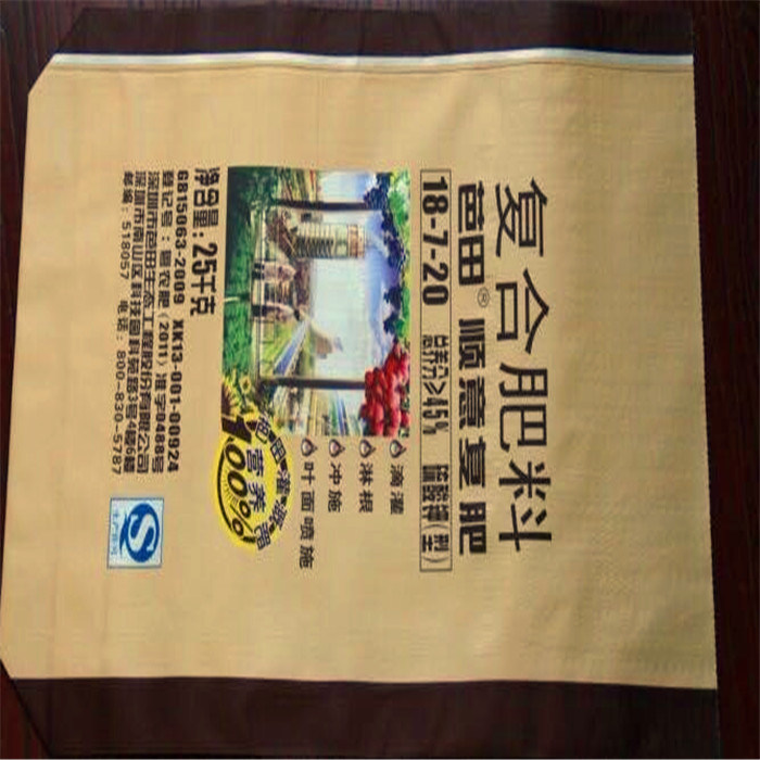 PP Woven Laminated Kraft Paper Valve Bag pictures & photos
