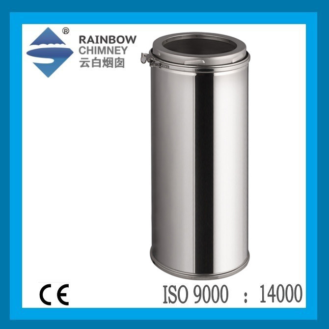 Ce Approval Twin Wall Stainless Steel Chimney Pipe