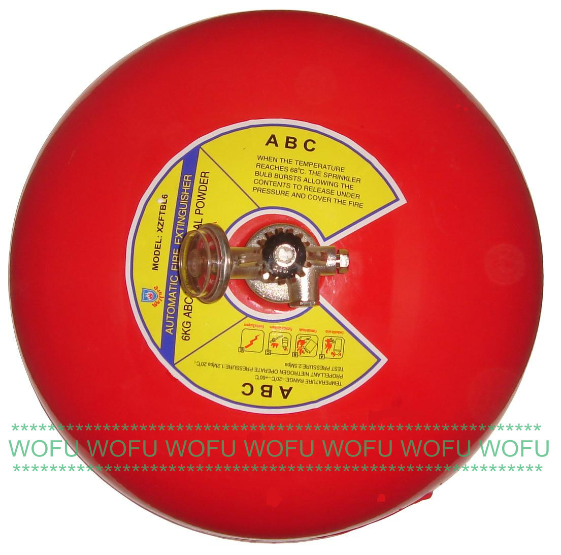 [Hot Item] 6kg Auto Suspended ABC Fire Extinguisher