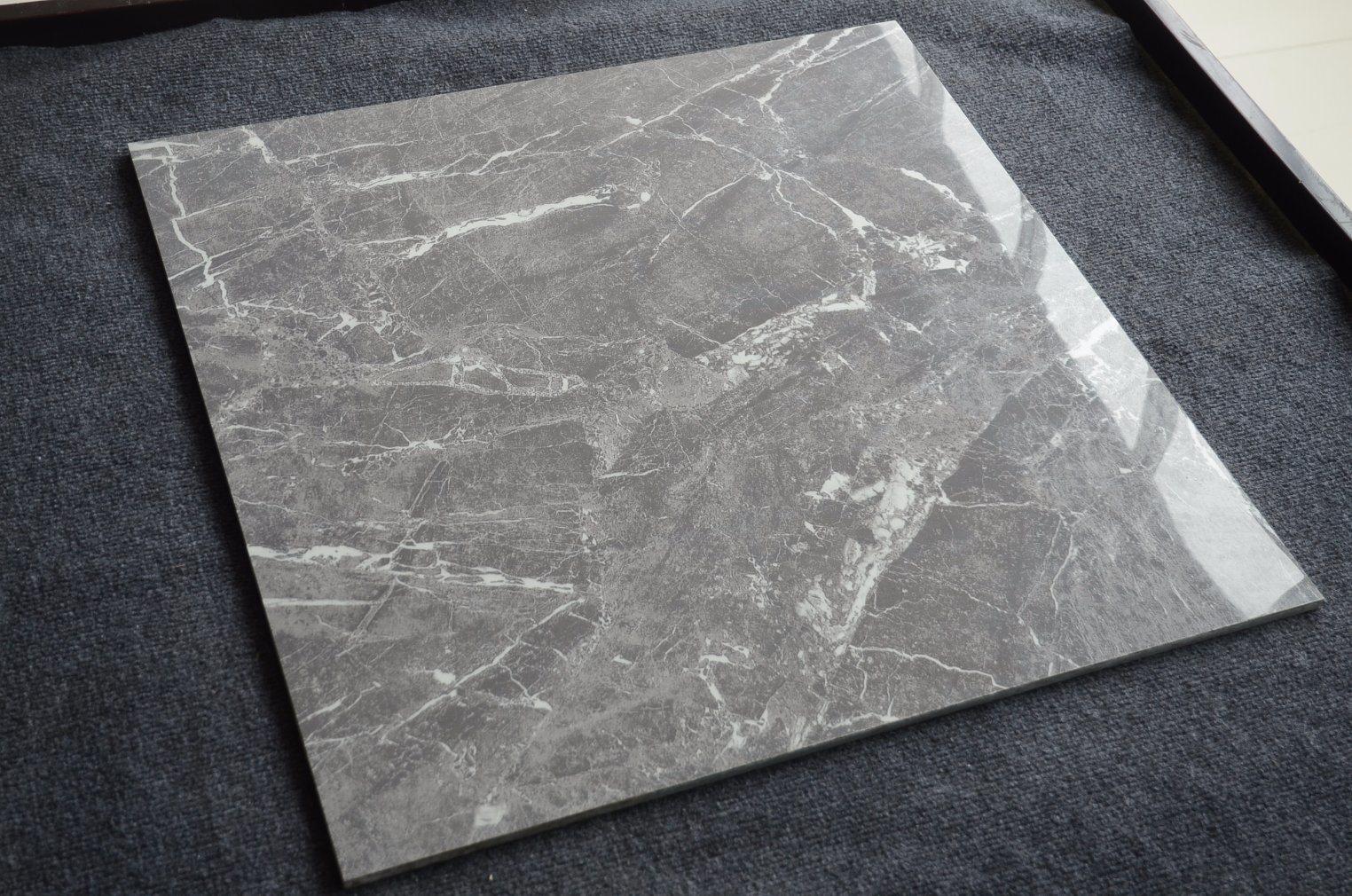 China 600 X 600 Gres Porcellanato Grey Marble Tile Ceramic Tiles in ...