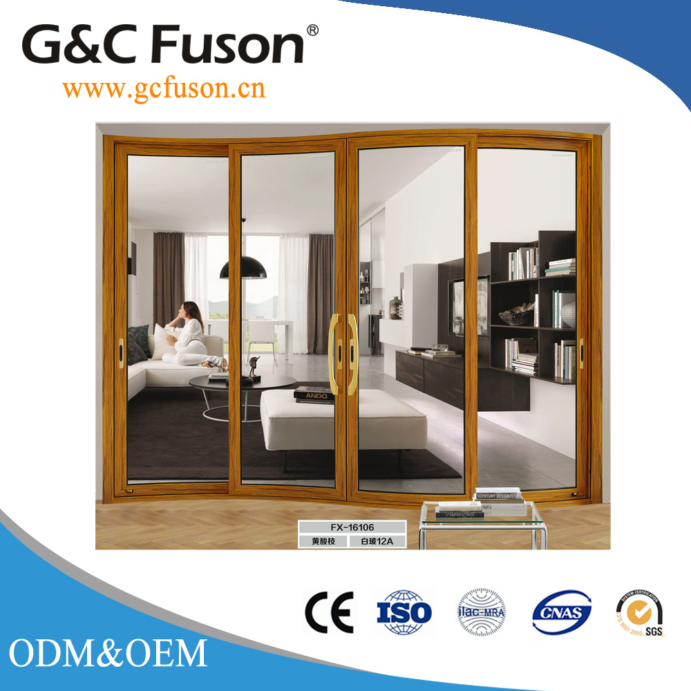 China New Design Low E Double Glazed Sliding Doors For House Photos