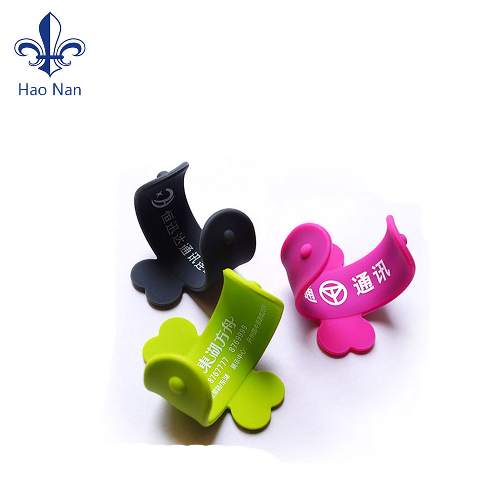 Promotional Gift Custom Silicone Mobile Phone Holder pictures & photos