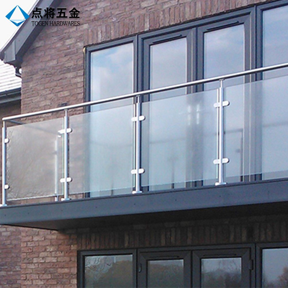 China Most Popular Modern Design Stainless Steel Balcony Railings