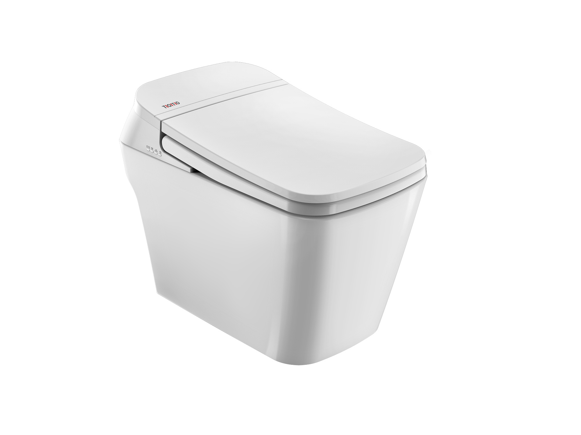 China Supplier Electric Intelligent Toilet with Warm Seat Cover ...