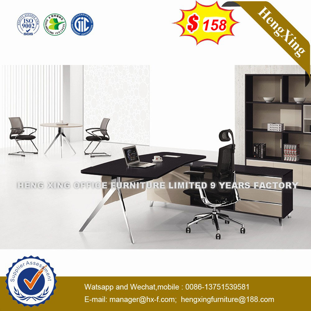 Big Size Extension Side Table Attached Office Desk Ns D063