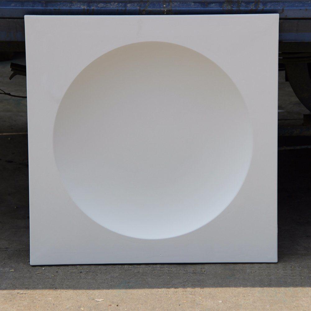 China Polyurethane Square Ceiling Tiles Pu Ceiling Rosette Decor Hn