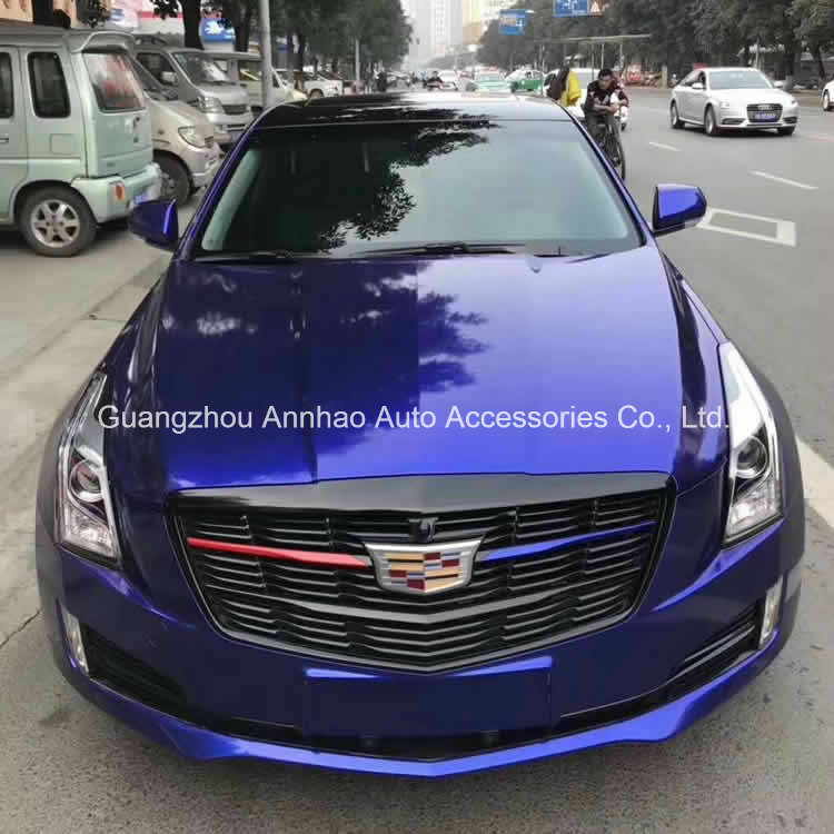[Hot Item] Crystal Metal High Glossy Blueberry Blue Car Wrapping Vinyl Foil