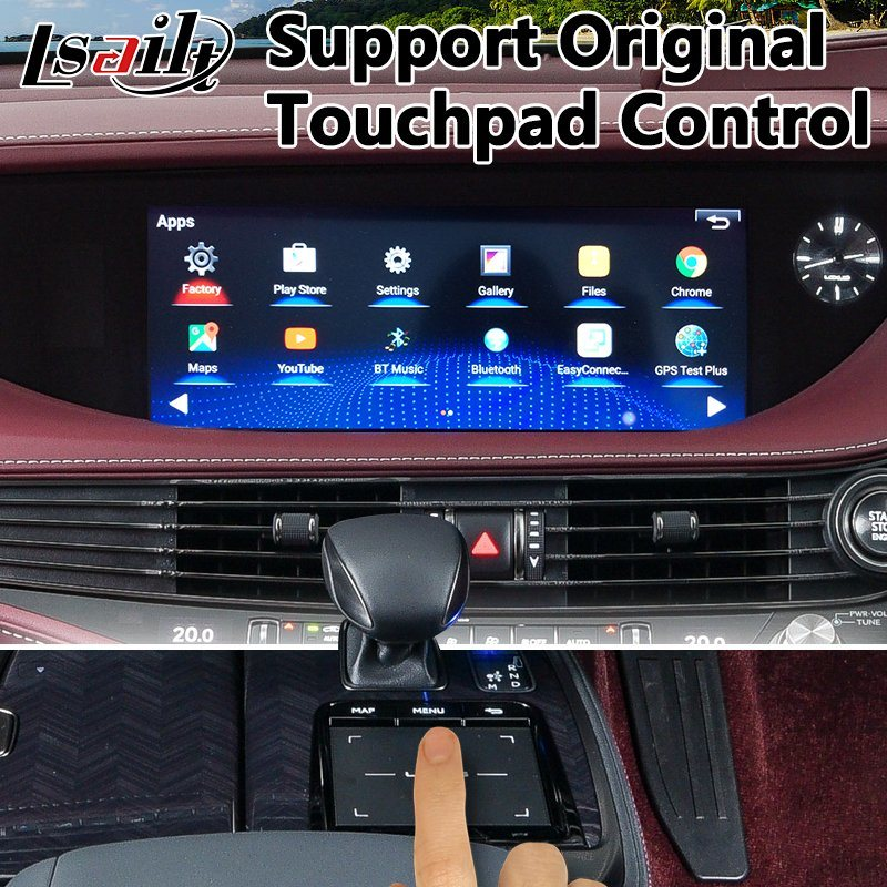 China Android 7 1 Car GPS Navigator for 2018-2019 New Lexus Ls 500