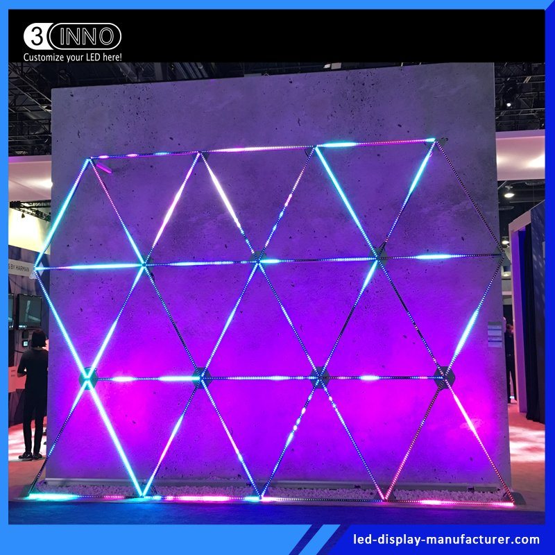 Hot Item Professional Stage Lighting Led Pixel Video Strip Curtain Screen 3cinno Exclusive Design