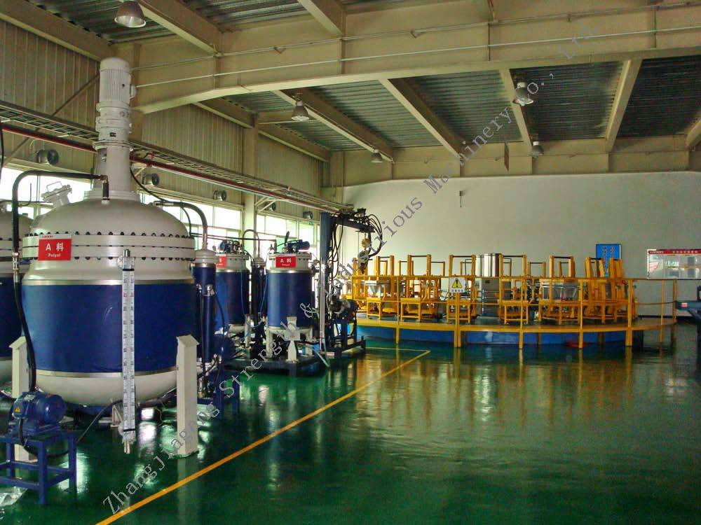 Rotary Table PU Foaming Line (RT Series) pictures & photos
