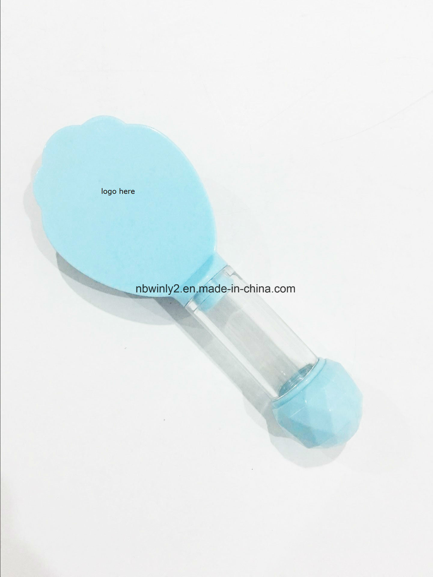 Plastic Hairbrush Separately Head with Handle