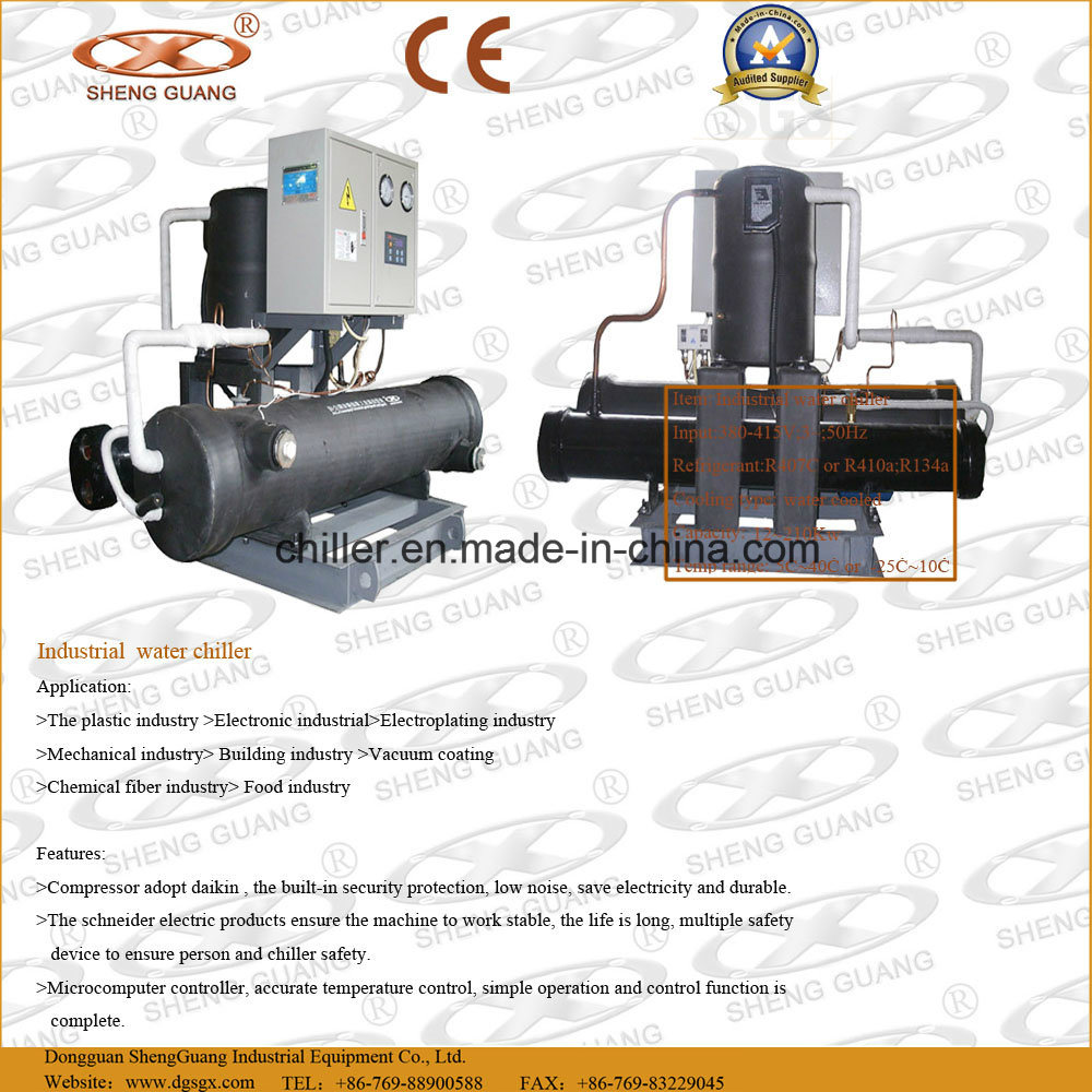 China Water Cooled Industrial Chiller with Daikin Compressor Photos