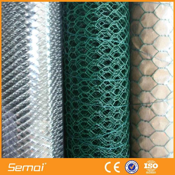 China PVC 1/2 Inch Hexagonal Mesh Chicken Wire - China Hexagonal ...