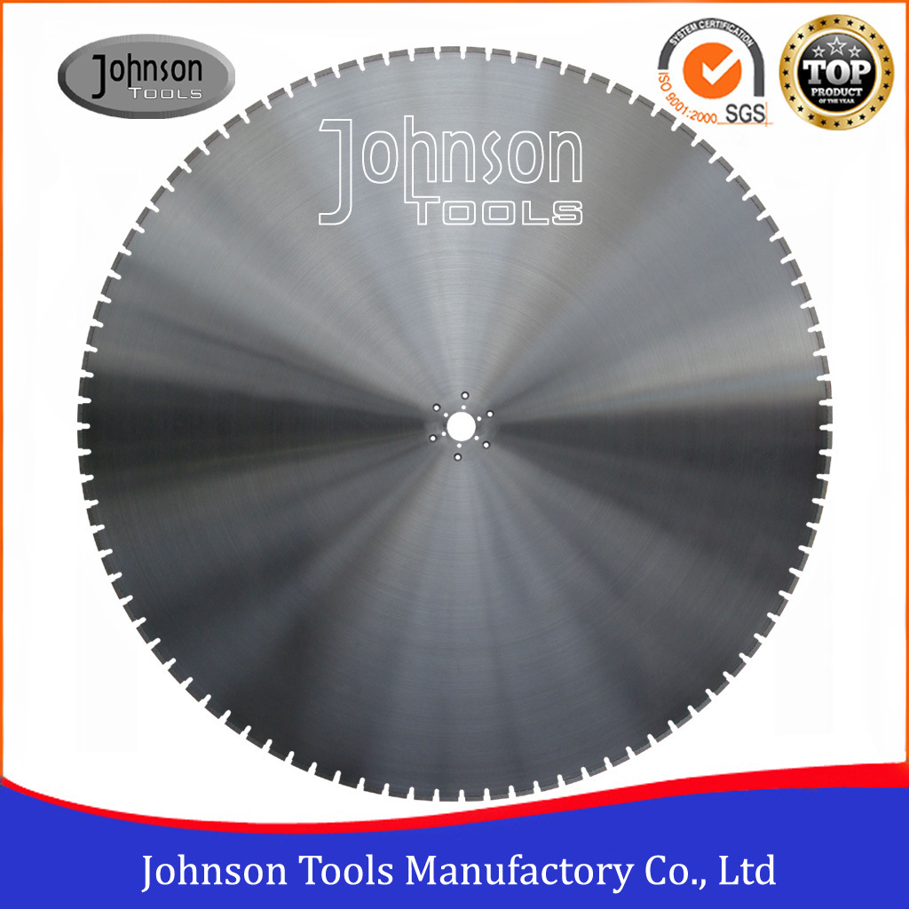 1600mm Laser Saw Blade for Cutting Reinforced Concrete Wall