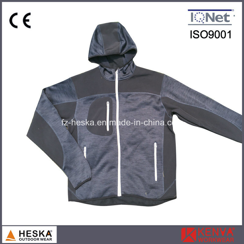 Knitted Softshell Wear Outdoor Knitted Jacket pictures & photos