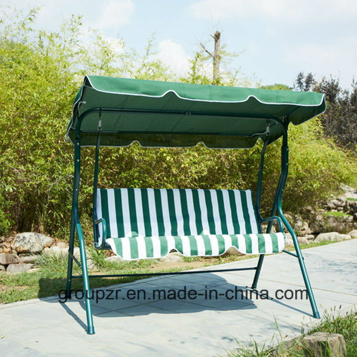Outdoor 3 Seats Garden Swing Chair pictures & photos