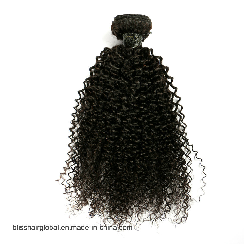 "Bliss Brazilian Plus Baby Deep 10""-30"" Hot Sale Raw Unprocessed Virgin Brazilian Kinky Curly Hair pictures & photos"