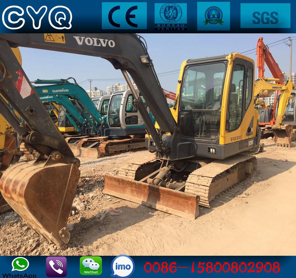[Hot Item] Mini Excavator Used Volvo Small Excavator Volvo Ec55