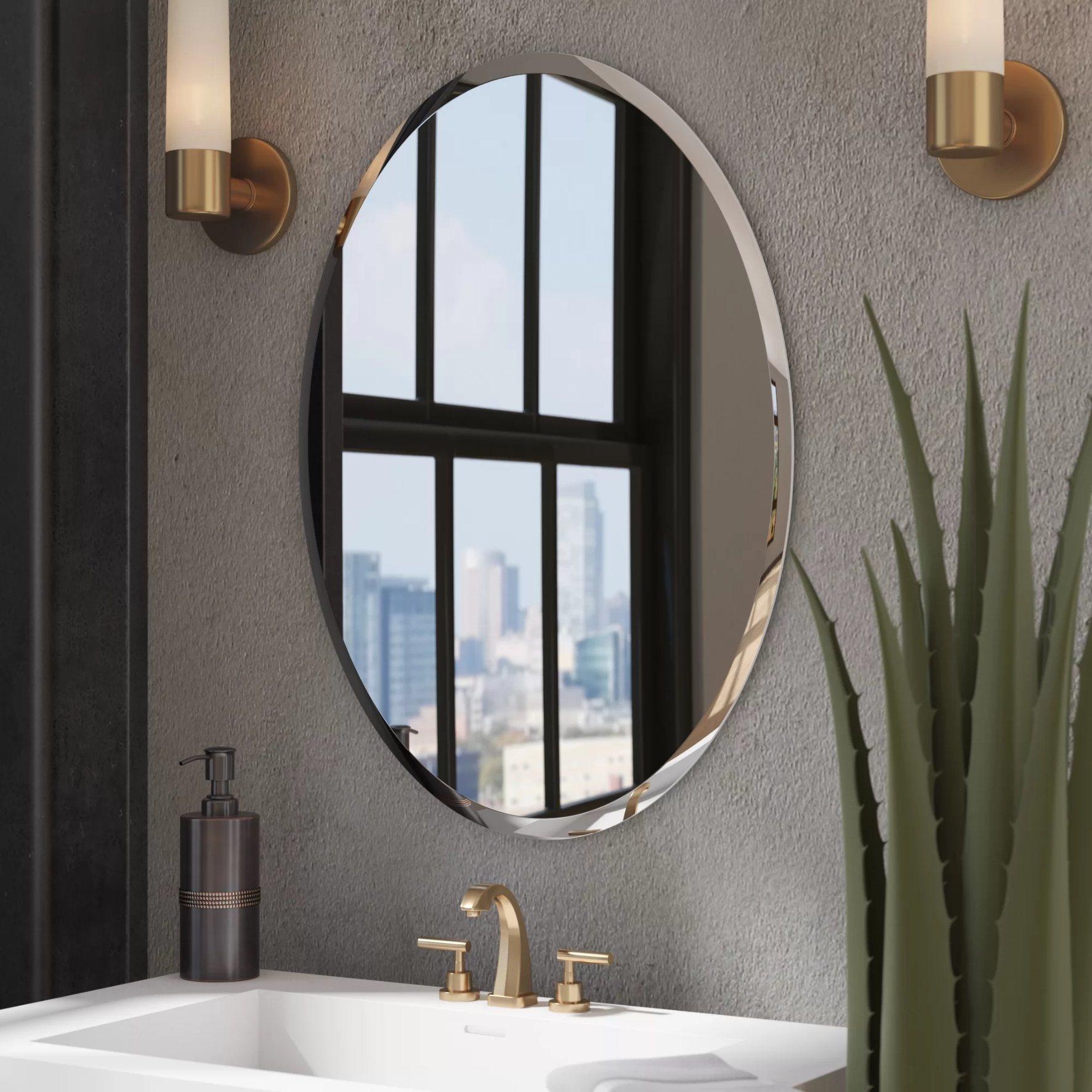 Wayfair mirrors for bathrooms child bike carrier rear