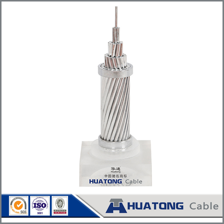 Overhead Aluminium Bare ACSR Conductor for Transmission Line Use
