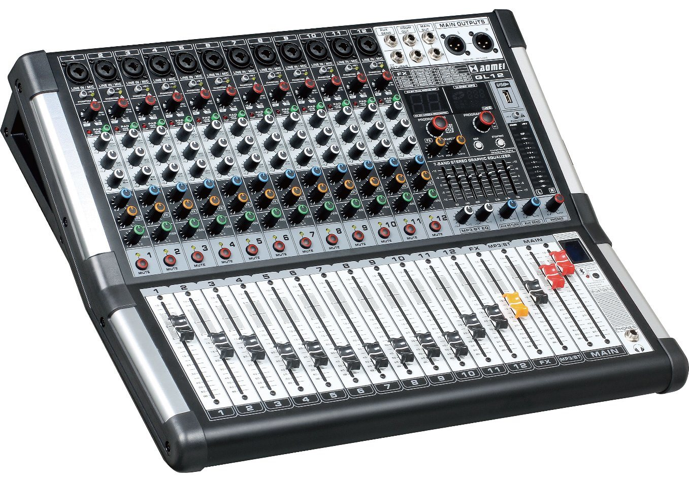 Special New Design Mixer Gl Series Professional Amplifier