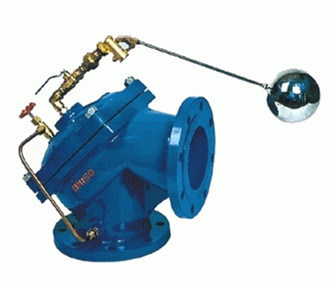 (100A) Diaphragm Actuated Angle Hydraulic Water Level Control Valve pictures & photos