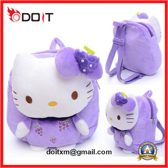 85245572a8 China Plush Backpack Kids School Bag Baby Toy Bag - China Plush Bags ...