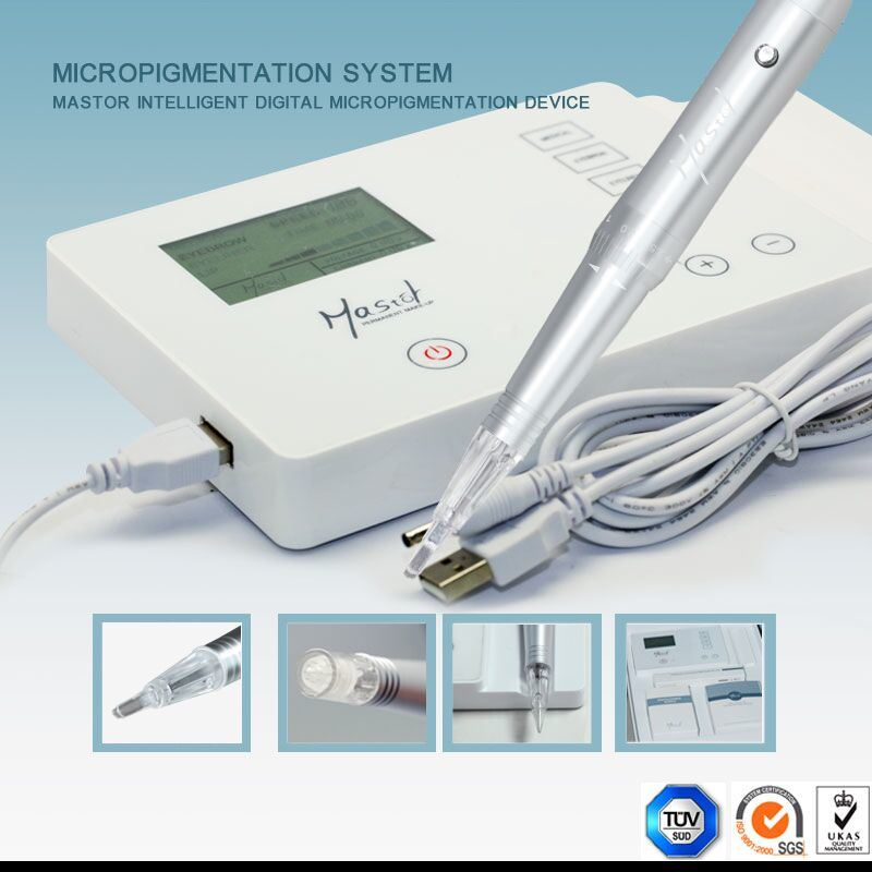 Professional Rotary Electric Permanent Makeup Machine Nano Micro Needle Tattoo Machine for Eyebrow