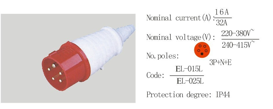 China PC Plug Socket Coupling (EL-034/EL-044) - China PC