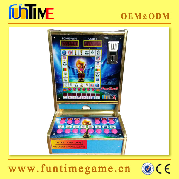 Africa Popular Casino Coin Operated Mario Slot Machine for Cameroon