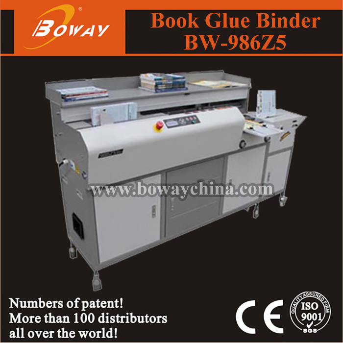 Boway Hot Melt Auto Side Glue Binding Machine (BW-986V, BW-986Z5) pictures & photos
