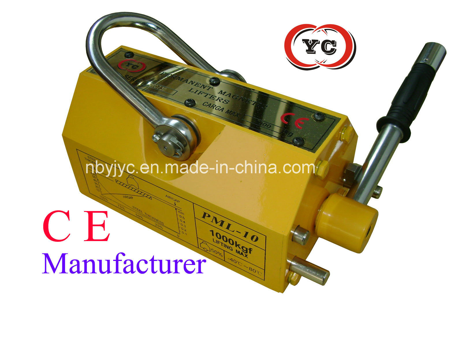 China Best 1000kg Magnetic Lifter