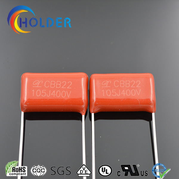Film Capacitor with Low Price, High Quality and Certificates (CBB22 105/400)