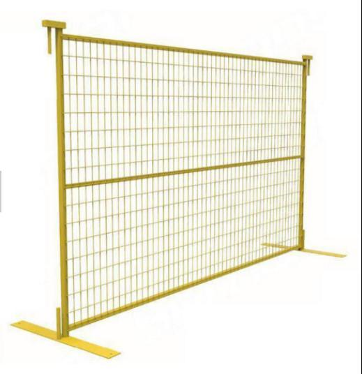 China 6ftx9.5FT Canada Galvanized Welded Wire Temp Fence/Temporary ...